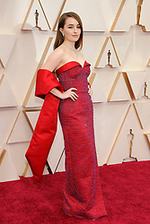 92nd Annual Academy Awards Oscar Ceremony - Arrivals. 09 Feb 2020 Pictured: Kaitlyn Dever. Photo credit: Jen Lowery / MEGA TheMegaAgency.com +1 888 505 6342