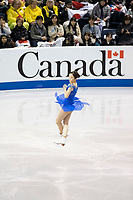 KELOWNA, BC - OCTOBER 26: Japanese figure skater Marin Honda competes during the ladies long program of Skate Canada International held at Prospera Place on October 26, 2019 in Kelowna, Canada. (Photo by Marissa Baecker/Shoot the Breeze)