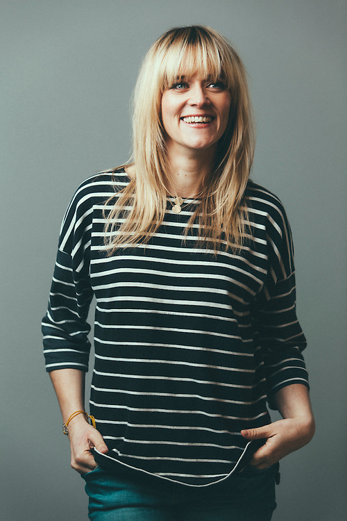 Broadcaster and television personality, Edith Bowman, photographed in London, 30th November 2011.