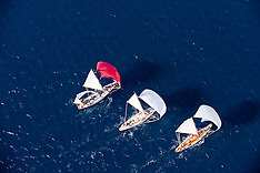 Classic Yachts from the air Cannes