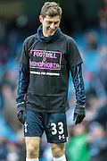 Ben Davies (Tottenham Hotspur) before the Barclays Premier League match between Manchester City and Tottenham Hotspur at the Etihad Stadium, Manchester, England on 14 February 2016. Photo by Mark P Doherty.