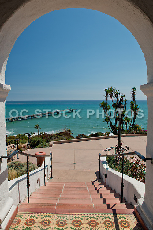 Casa Romantica and the San Clemente Pier