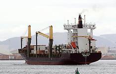 Tauranga-Freighter Vega Auriga, banned from Australian ports  at Mt Maunganui