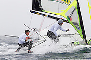 2013 Isaf Test Event  | day 1| 49er