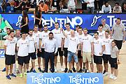 Premiazione team Bielorussia,Nazionale italiana maschile senior - Trentino basket cup 2017 ITALIA - OLANDA ITALY HOLLAND, FIP 2017, Trento 30/07/2017 foto Ciamillo-Castoria/Bertani