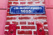 McCully Building (1855), Jacksonville, Oregon USA