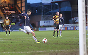 Ryan Conroy ties Dundee ahead from the penalty spot - Dundee v Alloa Athletic, SPFL Championship at Dens Park<br /> <br />  - &copy; David Young - www.davidyoungphoto.co.uk - email: davidyoungphoto@gmail.com