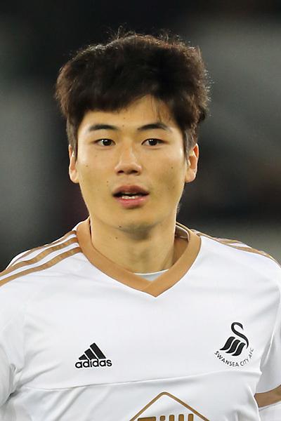 Ki Sung-Yueng of Swansea City
