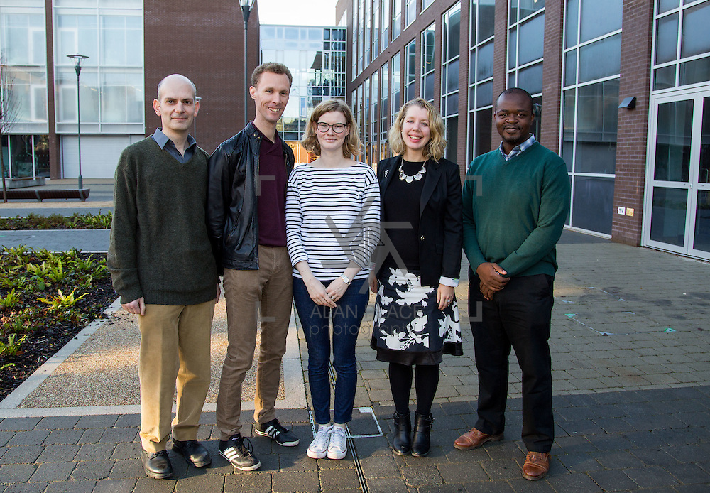08.12.2016                   <br /> Pictured at the MACSI 10 conference, Analog Devices Building UL were, Davide Cellai, Vincent Cregan, Ellen Murphy, Joanna Jordan and Michael Chapwanya. Picture: Alan Place