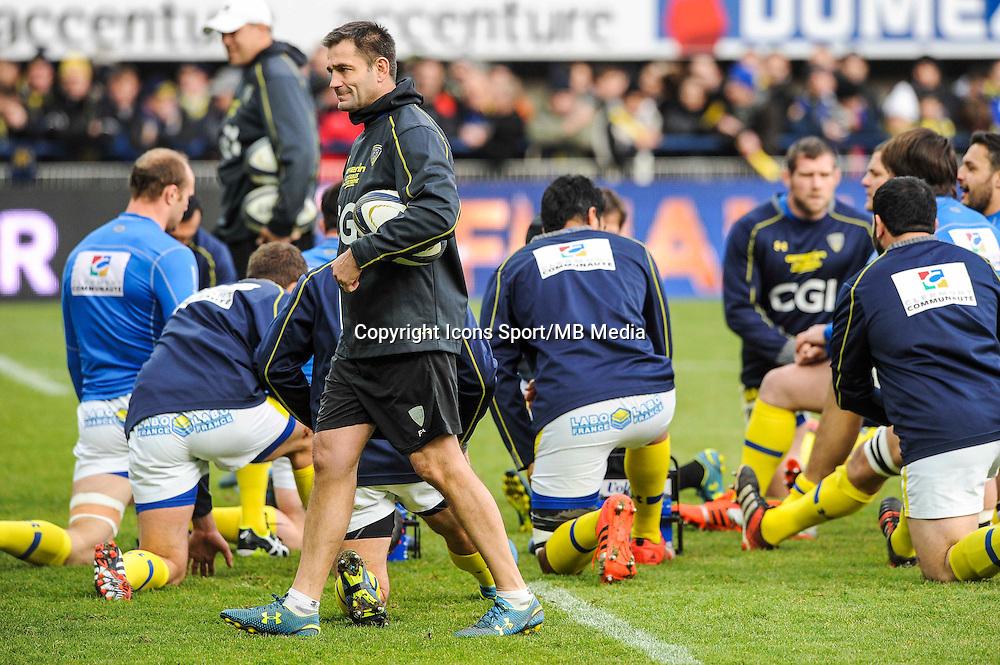 Franck AZEMA - 25.01.2015 -  Clermont / Saracens - European Champions Cup <br />Photo : Jean Paul Thomas / Icon Sport