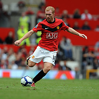 Paul Scholes<br /> Manchester United 2009/10<br /> Manchester United V Birmingham City (1-0) 16/08/09<br /> The Premier League<br /> Photo Robin Parker Fotosports International