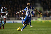 Brighton & Hove Albion full back Bruno Saltor (Captain) (2) during the EFL Sky Bet Championship match between Brighton and Hove Albion and Aston Villa at the American Express Community Stadium, Brighton and Hove, England on 18 November 2016.