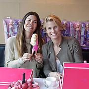NLD/Amsterdam/20120308 - BN' ers ontwerpen kleding voor Barbie, Sjimmy Bruijninckx en Robine van der Meer