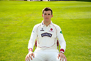 County Championship kit portrait of Craig Overton during the Somerset County Cricket Club PhotoCall 2017 at the Cooper Associates County Ground, Taunton, United Kingdom on 5 April 2017. Photo by Graham Hunt.