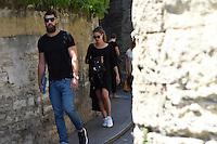 Luka karabatic / Jennifer Priez - 17.06.2015 - Proces des paris sportifs du Handball - Montpellier<br /> Photo : Alexandre Dimou / Icon Sport