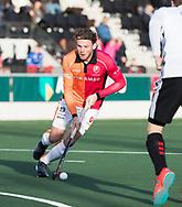AMSTELVEEN - Bob de Voogd (Oranje-Rood)    tijdens   de hoofdklasse hockeywedstrijd AMSTERDAM-ORANJE ROOD (4-5). COPYRIGHT KOEN SUYK