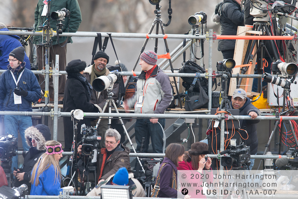 South Press Riser of the 57th Presidential Inauguration of President Barack Obama at the U.S. Capitol Building in Washington, DC January 21, 2013.