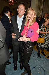 ORLANDO & CLEMENTINE FRASER at a party to celebrate the publication of The Romanovs 1613-1918 by Simon Sebag-Montefiore held at The Mandarin Oriental, 66 Knightsbridge, London on 2nd February 2016.