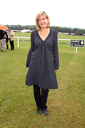 TV presenter PENNY SMITH at the Kuoni World Clas Polo Cup in aid of Breast Cancer Care held at Hurtwood Park Polo Club, Ewhurst, Surrey on 27th May 2007.<br />