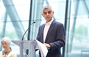 Sadiq Khan, Mayor launches a search for the first ever London Borough of Culture at a ceremony at City Hall, London, Great Britain <br /> 30th June 2017 <br /> <br /> <br /> Justine Simons OBE, Deputy Mayor for Culture and the Creative Industries <br /> <br /> <br /> <br /> <br /> Sadiq Khan, Mayor London <br /> <br /> <br /> <br /> <br /> Photograph by Elliott Franks <br /> Image licensed to Elliott Franks Photography Services