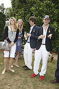 Amelia Bamberger, Daisy Bell, Max Carello and Carlo Carello. Cartier Style et Luxe champagne reception and lunch at the  the Goodwood festival of Speed. 9 July 2006. -DO NOT ARCHIVE-© Copyright Photograph by Dafydd Jones 66 Stockwell Park Rd. London SW9 0DA Tel 020 7733 0108 www.dafjones.com