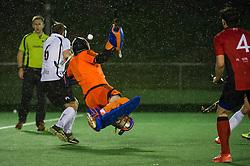 Southgate v Wapping - Men's Hockey League - Conference East, Trent Park, London, UK on 15 October 2016. Photo: Simon Parker