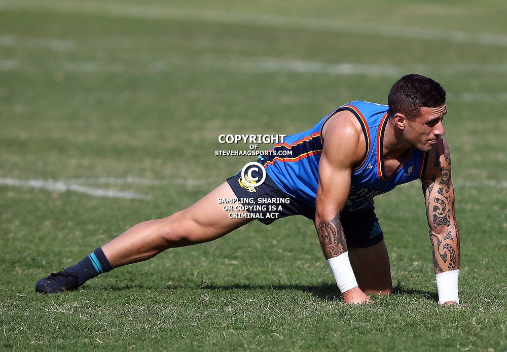 DURBAN, SOUTH AFRICA, 3, May 2016 - TJ Perenara (vc) during the Hurricanes training session held at Northwood School Durban North , (Photographer Steve Haag) <br /> <br /> Images for social media must have consent from Steve Haag