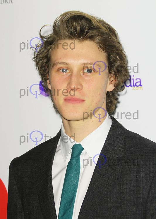 George MacKay, London Critics Circle Film Awards, May Fair Hotel, London UK, 02 February 2014, Photo by Richard Goldschmidt