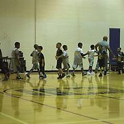 B's first basketball game 2017