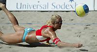 Volleyball, Sandvolleyball, World Tour Stavanger, Grand Slam, 30/06-05, <br />Kathrine Maaseide,<br />Foto: Halvard Hofsmo, Digitalsport