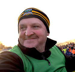 Delighted Louisburgh manager John Kelly after their Connacht junior final win over Creggs.<br /> Pic Conor McKeown