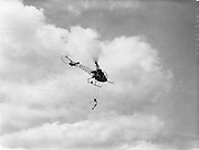 Helicopter, Westland Widgeon Arrives Helicopter, Westland Widgeon Arrives Air Display at Weston, Leixlip, Co. Kildare .08/06/1957 .