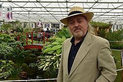 Bill Bailey at the RHS Chelsea Flower Show Press Day, Royal Hospital Chelsea, London England. 22 May 2017.<br /> Photo by Dominic O'Neill/SilverHub 0203 174 1069 sales@silverhubmedia.com