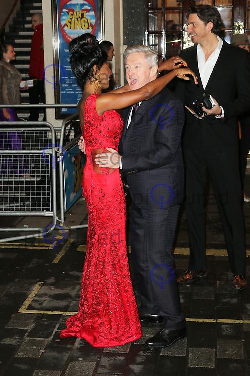 Sinitta; Louis Walsh, I Can't Sing! The X Factor Musical - press night, London Palladium, London UK, 26 March 2014, Photo by Richard Goldschmidt