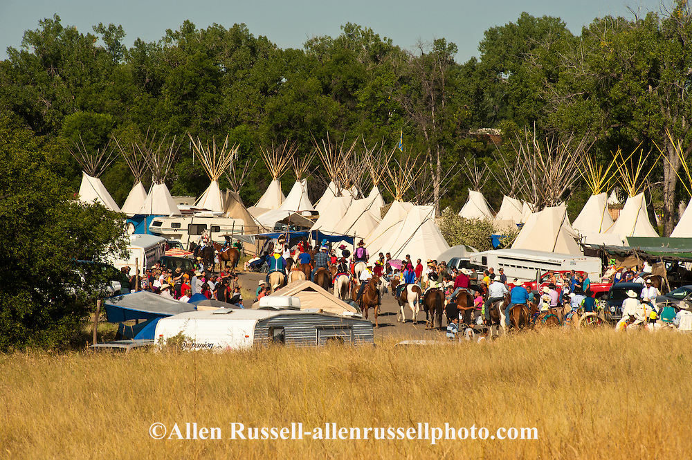 Crow Fair, Parade, Teepee Capital of the World, Crow Indian Reservation, Montana