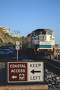 North Beach Metro Link Commuter Rail System San Clemente California
