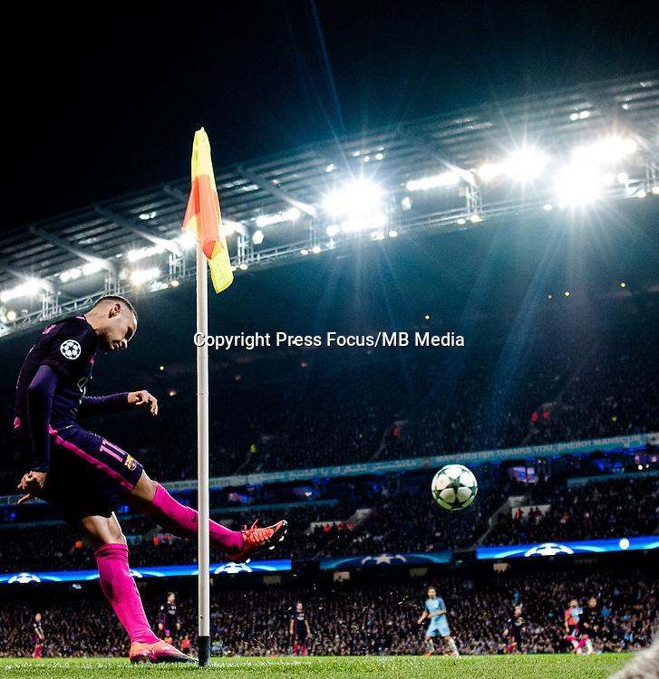 2016.11.01 Manchester<br /> Pilka nozna Liga Mistrzow sezon 2016/2017<br /> Manchester City - FC Barcelona<br /> N/z Neymar<br /> Foto Sebastian Frej / PressFocus<br /> <br /> 2016.11.01 Manchester<br /> Football Champions League season 2016/2017<br /> Manchester City - FC Barcelona<br /> Neymar<br /> Credit: Sebastian Frej / PressFocus