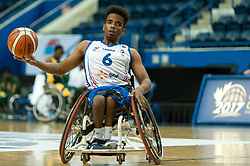 June 9, 2017 - Toronto, Ontario, Canada - Samih Mohamed Khalil on the field during the basketball game - South Africa vs France  during 2017 Men's U23 World Wheelchair Basketball Championship which takes place in Ryerson's Mattamy Athletic Centre, Toronto, ON, in June 08 -16, 2017  (Credit Image: © Anatoliy Cherkasov/NurPhoto via ZUMA Press)