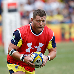 Benjamin Kayser of Clermont during Top 14 match between Clermont and Agen on August 25, 2018 in Perpignan, France. (Photo by Romain Biard/Icon Sport)