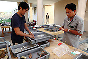 Members of the Japanese maintenance and restoration team in Bamiyan are collecting and cataloguing remains of ancient Buddhist and Islamic artefacts found on the premises of the archaeological site. The Japanese team of experts has been visiting the town for various years to find a long-term solution to its slow but unceasing disappearance. The Buddhas of Bamiyan were two 6th century monumental statues of standing Buddhas carved into the side of a cliff in the Bamiyan valley in the Hazarajat region of central Afghanistan, situated 230 km northwest of Kabul at an altitude of 2500 meters. The statues represented the classic blended style of Gandhara art. The main bodies were hewn directly from the sandstone cliffs, but details were modelled in mud mixed with straw, coated with stucco. Amid widespread international condemnation, the smaller statues (55 and 39 meters respectively) were intentionally dynamited and destroyed in 2001 by the Taliban because they believed them to be un-Islamic idols. Once a stopping point along the Silk Road between China and the Middle East, researchers think Bamiyan was the site of monasteries housing as many as 5,000 monks during its peak as a Buddhist centre in the 6th and 7th centuries. It is now a UNESCO Heritage Site since 2003. Archaeologists from various countries across the world have been engaged in preservation, general maintenance around the site and renovation. Professor Tarzi, a notable An Afghan-born archaeologist from France, and a teacher in Strasbourg University, has been searching for a legendary 300m Sleeping Buddha statue in various sites between the original standing ones, as documented in the old account of a renowned Chinese scholar, Xuanzang, visiting the area in the 7th century...Professor Tarzi worked on projects to restore the other Bamiyan Buddhas in the late 1970s and has spent most of his career researching the existence of the missing giant Buddha in the valley.