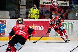 08.01.2017, Ice Rink, Znojmo, CZE, EBEL, HC Orli Znojmo vs Dornbirner Eishockey Club, 41. Runde, im Bild v.l. Jan Seda (HC Orli Znojmo) Stepan Csamango (HC Orli Znojmo) // during the Erste Bank Icehockey League 41th round match between HC Orli Znojmo and Dornbirner Eishockey Club at the Ice Rink in Znojmo, Czech Republic on 2017/01/08. EXPA Pictures © 2017, PhotoCredit: EXPA/ Rostislav Pfeffer