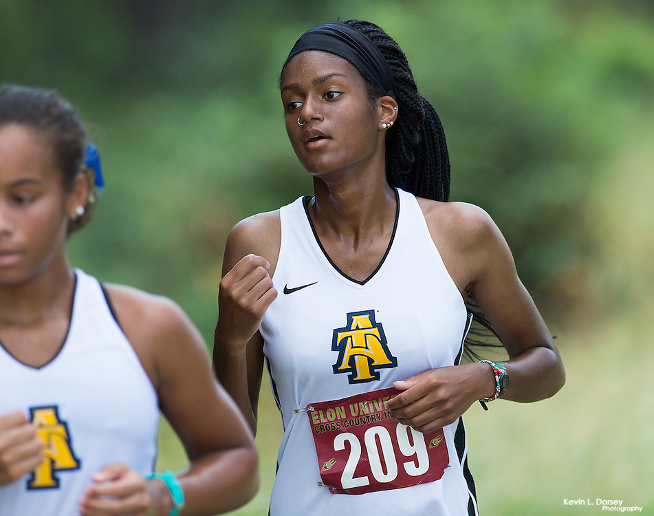2016 A&T Cross Country at Elon Invitational