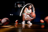 JEROME A. POLLOS/Press..Joel Underdahl bounced back from a serious knee injury he sustained in a football game in 2008 to become Lakeland High's leading scorer on the varsity basketball team.