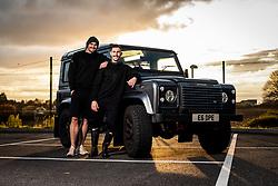 Exeter Chiefs Lifestyle Merchandise - Ryan Hiscott/JMP - 20/11/2019 - SPORT - Sandy Park - Exeter, England - Exeter Chiefs Trading Post Shoot