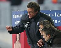 Thomas Doll, Ralf Zumdick, Dietmar Beiersdorfer<br /> Bundesliga 1. FC Nuernberg - Hamburger SV<br /> Nürnberg<br /> <br /> Norway only