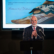 Strawbery Banke President Lawrence J. Yerdon opens the show