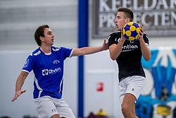 27-01-2018 NED: OVVO/De Kroon - Oost Arnhem, Maarssen<br /> De korfballers/sters uit Arnhem winnen met 24 - 22 / Rick Verdouw #6