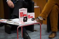 DEU, Deutschland, Germany, Berlin,28.02.2018: Buchvorstellung: Taugt das Christentum noch als geistiges Fundament Europas? Der Skandal der Skandale.