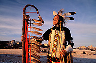 The late Ron Hawks, Lakota near Fort Robinson, Nebraska, USA