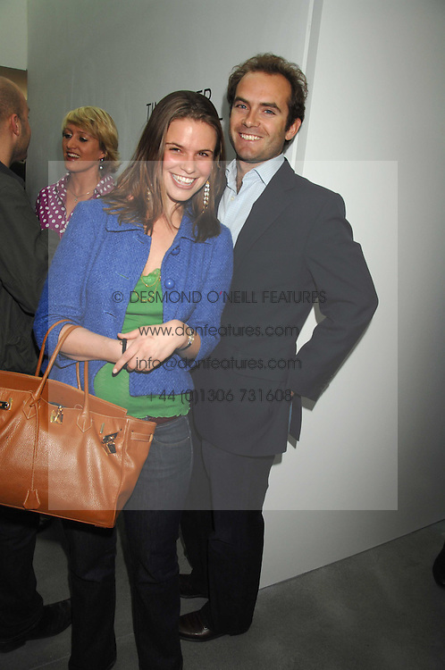 CECILIA STAINOW and MARK SELBY at the opening party for the new Alison Jacques Gallery, Berners Street, London followed by a party at the Sanderson Hotel, Berners Street on 3rd May 2007.<br />